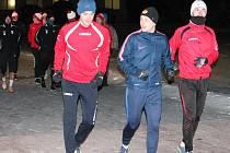 Zahájení zimní přípravy 2017 fotbalistů SK Klatovy 1898