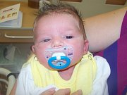Lukáš Piták ze Štěpánovic (3570 g, 50 cm) se narodil v klatovské porodnici 8. října v 14.04 hodin. Rodiče Hana a Marcel přivítali očekávaného prvorozeného syna společně na svět.