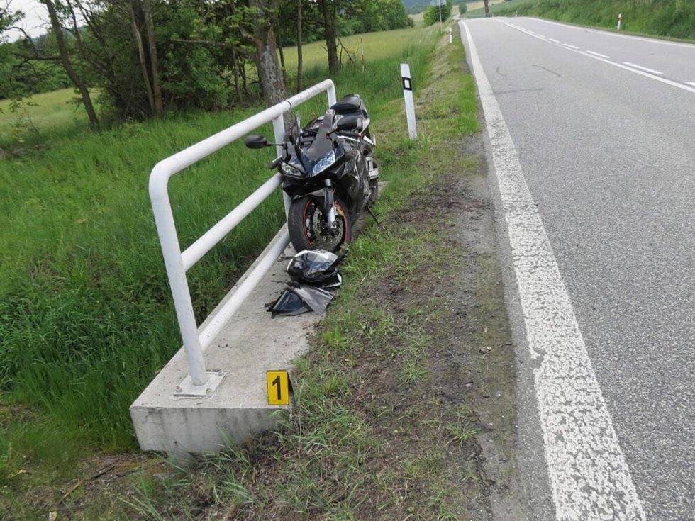 Dopravní nehoda u Pláničky.