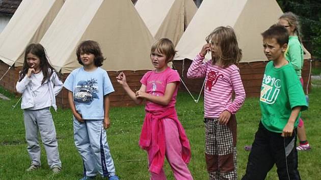 Dětský tábor. Ilustrační foto