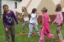 Dětský tábor v Nezdicích na Šumavě