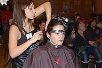 Kadeřnická soutěž Glamour v Sušici