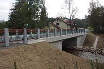 Nový most v Prášilech.