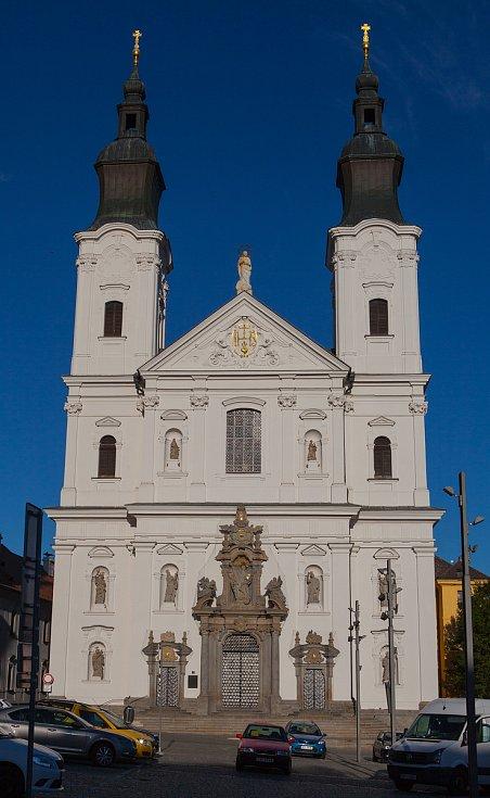 Jezuitský kostel v Klatovech.