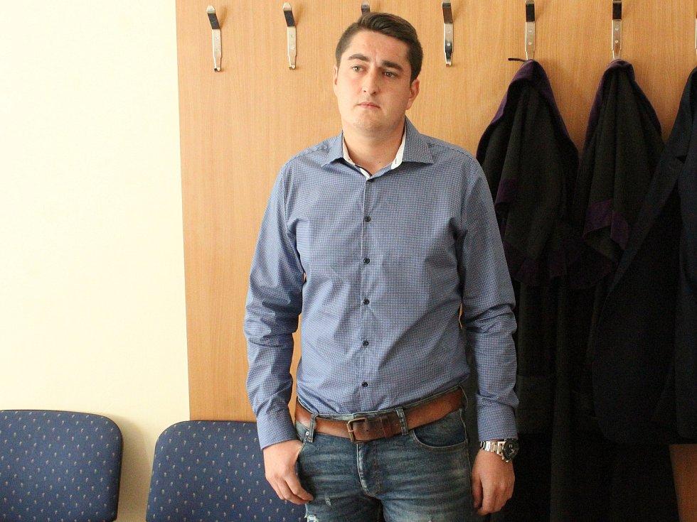František Dlouhý u klatovského soudu
