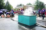 Západočeská hasičská liga pokračovala dalším kolem ve Strážově.