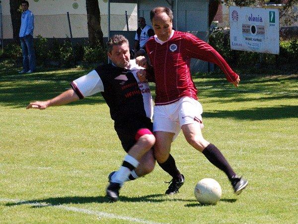 Stará garda Hradešic prohrála v přátelském utkání se Spartou Praha 1:7.