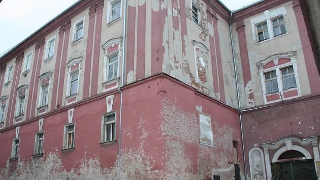 Bývalá sodovkárna v Klatovech