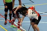 PG 2020 - B18: Sport Club Klatovy (bíločervené dresy) - PSN Tatran Střešovice (černí).