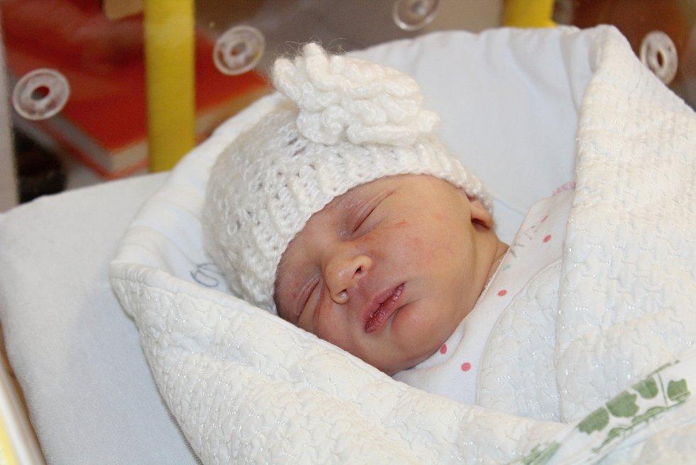 Barbora Naušová z Klatov se narodila v klatovské porodnici 7. července v 7:22 hodin (2970 g, 50 cm).  Na dcerku se těšili rodiče Jaroslava a Václav, pro kterého bylo pohlaví miminka překvapením. Na sestřičku se těší Ondra (4) a Jindra (2,5).