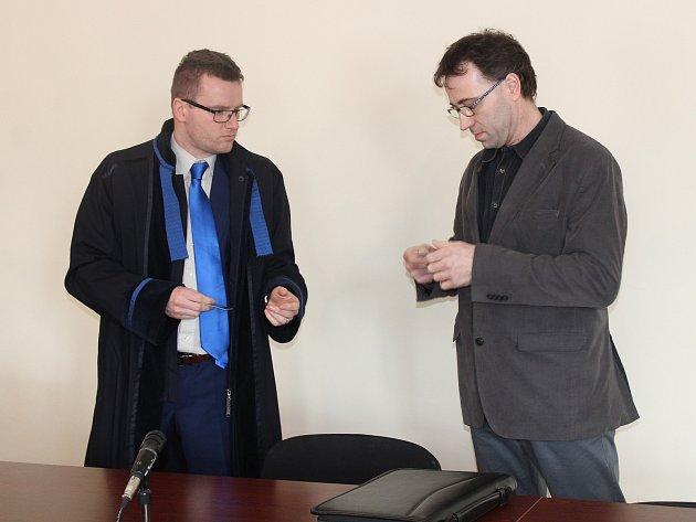 Martin Rezler u klatovského soudu