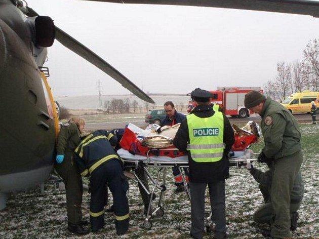 Dopravní nehoda ve Vřeskovicích