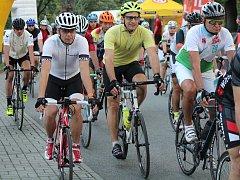 Start cyklistického závodu Author Král Šumavy Road 2017