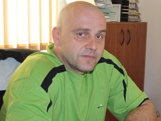 Starosta obce Borovy Jiří Černý