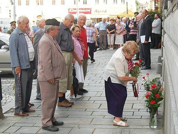 Vzpomínka na oběti okupace v srpnu 1968