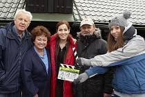 Na Šumavě začalo natáčení dalších dílů seriálu Policie Modrava. Seriál natáčí TV Nova.