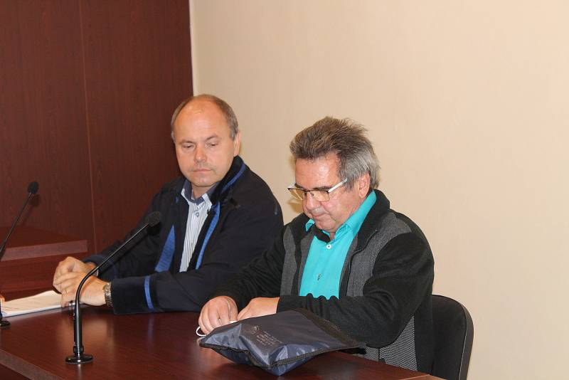 Anton Kovarovič u klatovského soudu.