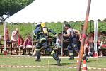 Železný hasič v Plánici.