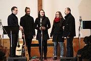 Vánoční koncert skupiny Elias v husitském kostele v Klatovech