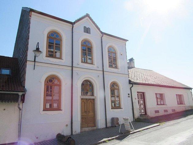 Horská synagoga v Hartmanicích.