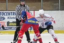 Liga juniorů HC Klatovy - HC Hvězda Praha 3:1.