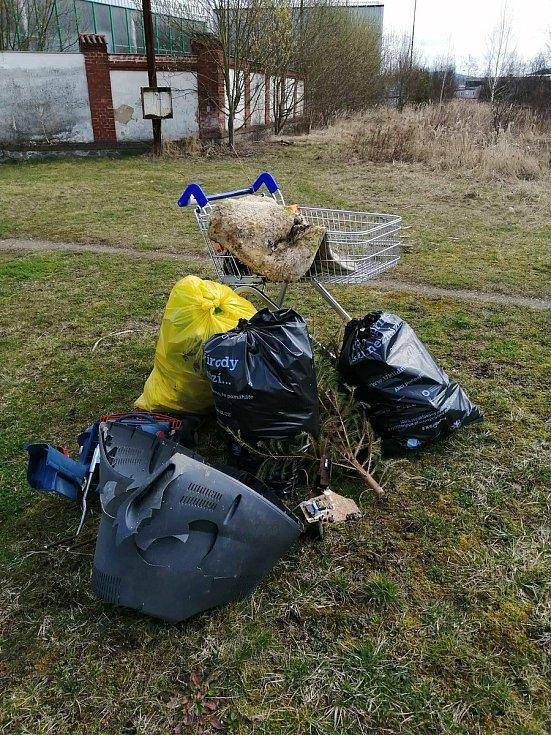 Do projektu Ukliďme Česko se zapojili i v Klatovech.