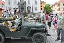 Oslavy osvobození v Klatovech 2012