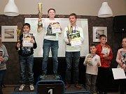 Slavnostní vyhlášení výsledků Petronas Cupu 2017, poháru čtyřkolek pro děti do 15 let v Kulturním domě Klatovy.