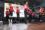 Slavnostní zahájení mezinárodního mládežnického basketbalového turnaje Easter Cup v Klatovech.