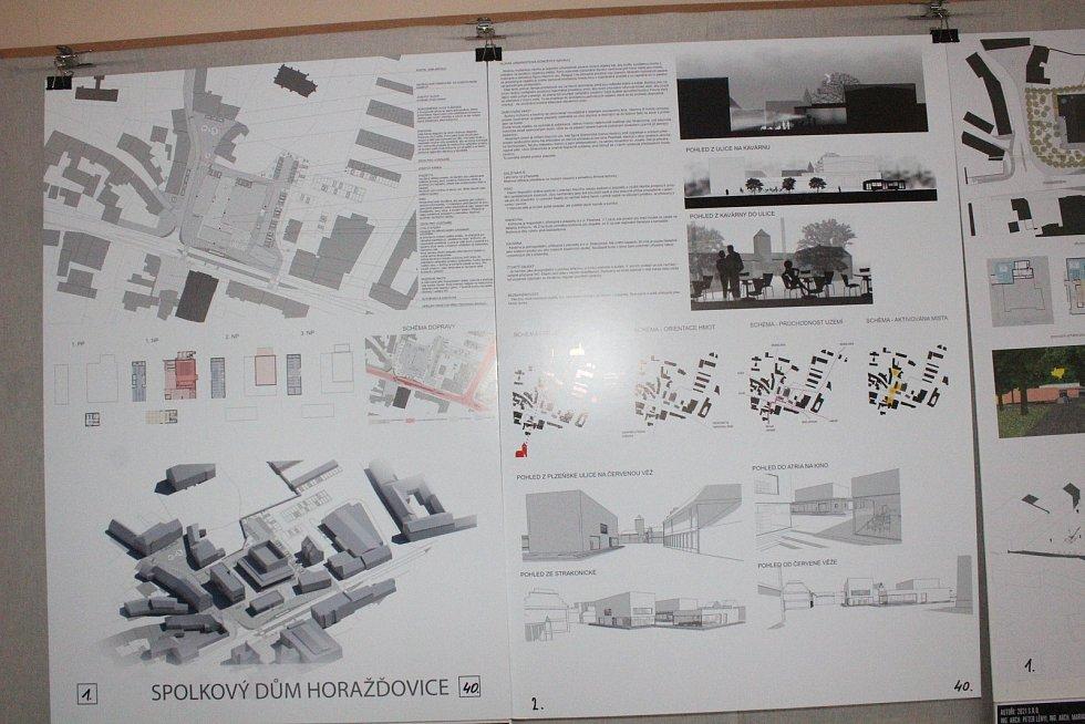 Představení návrhů na přestavbu kina v Horažďovicích.