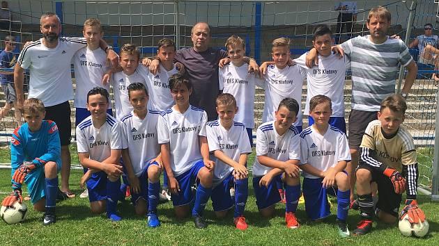 Vytoužená medaile sice mladým fotbalistům z Klatovska na republikovém finále této věkové kategorie unikla o vlásek, i tak mohou být ale všichni maximálně spokojení.