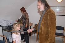 Pasování dětí na rytíře řádu čtenářského