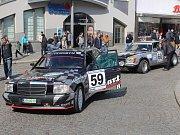Start Historic Vltava Rallye 2017