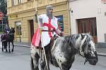 Jízda sv. Jiří v Sušici.