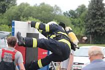 Železný hasič v Lubech.