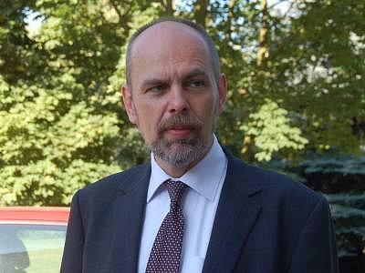 Ředitel klatovské nemocnice Jiří Vlček
