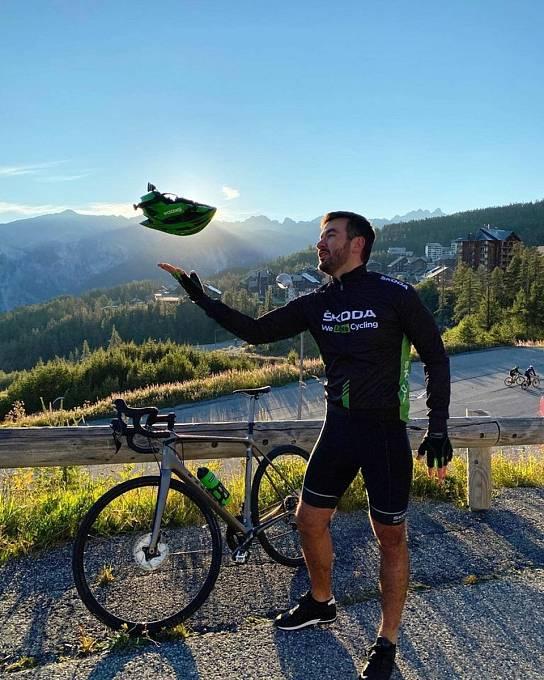Marek Ztracený na Tour de France.
