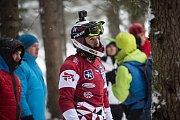 Z Riders Cupu v Rakousku. Václav Kosnar v červeném dresu.