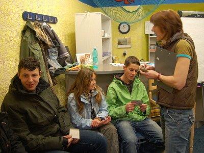 Hodinky v Chapadle je název akce, která má za úkol představit studentům bezprahové zařízení v centru Klatov.