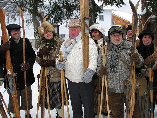 Historický sraz lyžařů na Kvildě