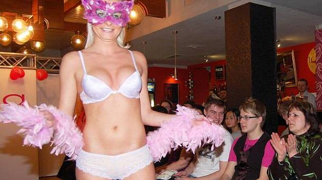 Valentýnská módní přehlídka v Klatovech