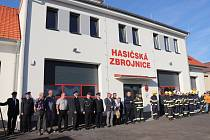 Slavnostní otevření nové hasičské zbrojnice v Chudenicích.