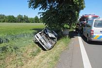 Dopravní nehoda u Hradešic