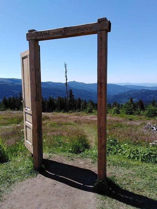 Dveře na Pancíři.