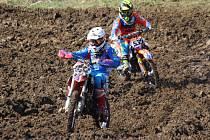 První závod mezinárodního mistrovství České republiky juniorů v motokrosu 2017 se jel ve Svatém Poli u Horažďovic.