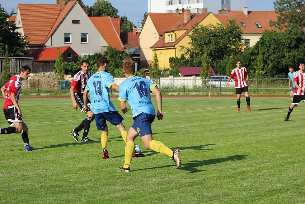 Fotbalová příprava: Blatná - Nepomuk 1:3.
