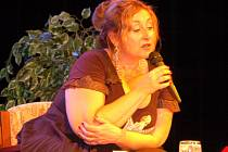 Halina Pawlowská vystoupila se svým pořadem v Klatovech.