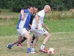 Turnaj v malé kopané Atrium Cup 2014 v Třebomyslicích.