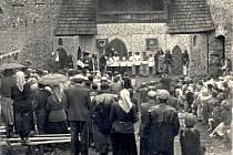 Ochotníci v Kašperských Horách – hra Noc na Karlštejně (1958)