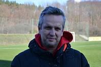 Klatovský trenér Michal Čadek.